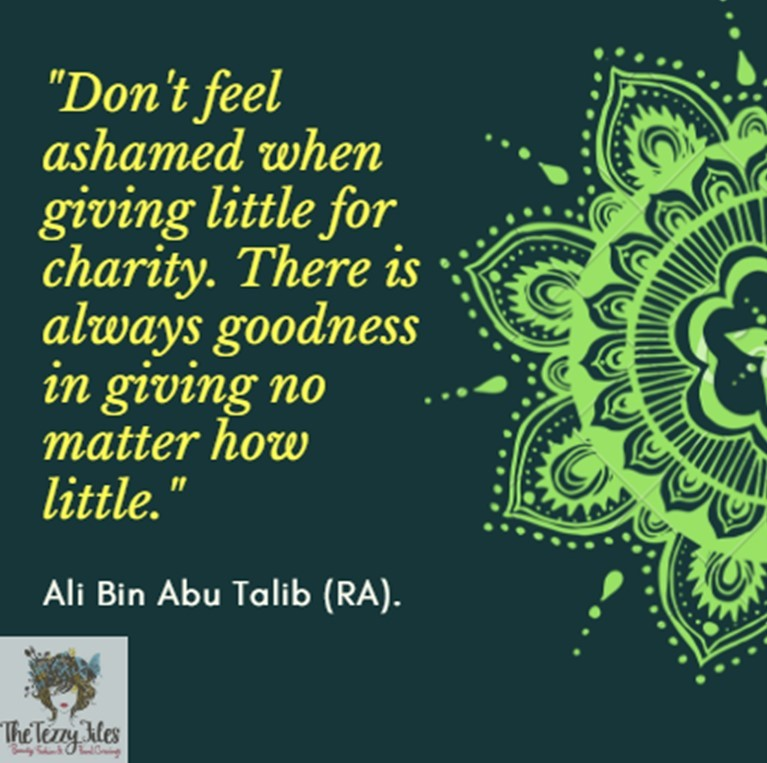 iSLAMIC QUOTE CHARITY GIVing ramadan zakat