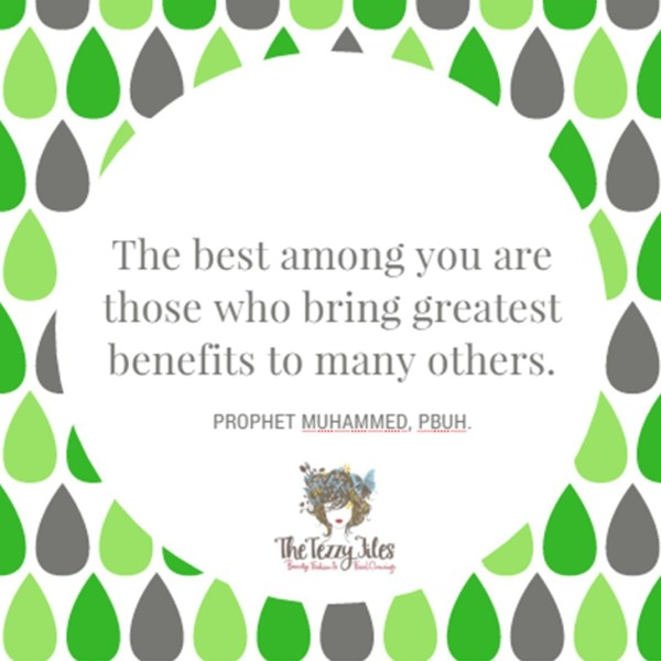 Islamic quote the best among you are those who bring the greatest benefits to many others blog