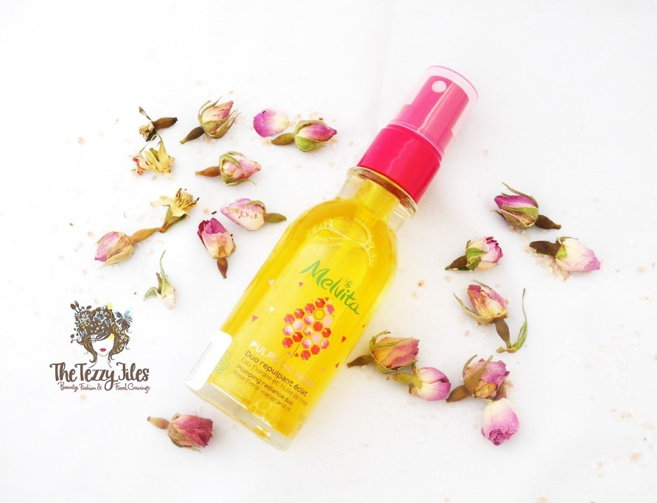 Melvita Pulpe De Rose Radiance Plumping Duo Review Dubai Beauty Blog Skincare Natural Organic Beauty Green Chic ME online shopping Rose Damask Rosehip Oil