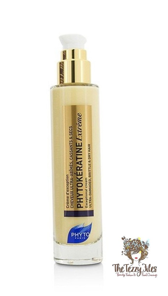 Phyto Phytokeratine Extreme Exceptional Cream Review Hair Care Blonde Dubai Beauty Blog.jpg