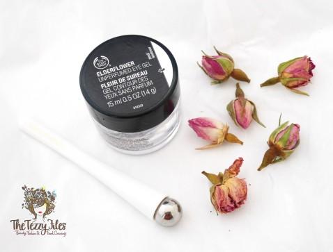 Th Body Sop ElderFlower Unperfumed Eye Gel Review Beauty Blog Dubai Blogger The Tezzy Files