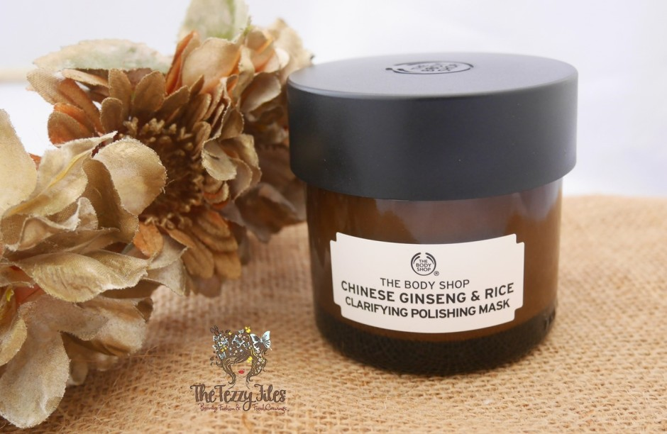The Body Shop Chinese Ginseng and Rice Face Scrub Mask Review (2)