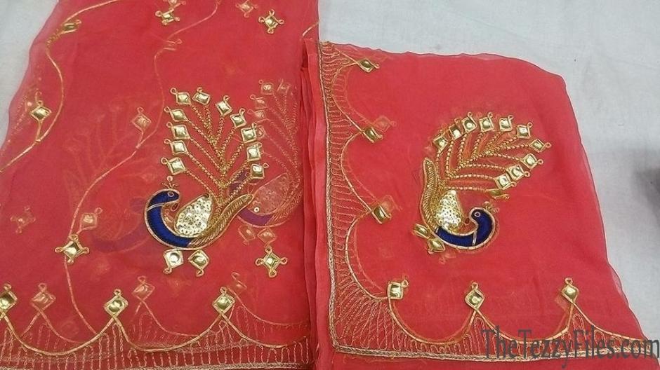 Danka Embroidery Danke Ka Kaam Rajasthan Fashion Sari Tradition Art Craft Craftsmanship Suchita Stylista Dubai Fashion Boulevard One Palace Downtown Exhibition (1)