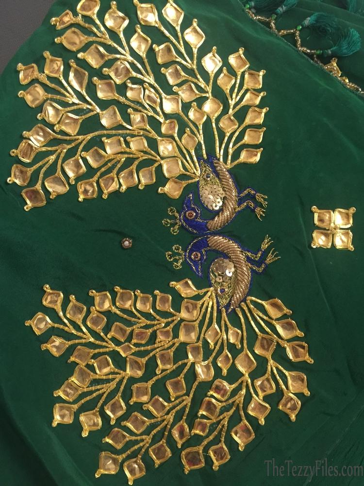 Danka Embroidery Danke Ka Kaam Rajasthan Fashion Sari Tradition Art Craft Craftsmanship Suchita Stylista Dubai Fashion Boulevard One Palace Downtown Exhibition (2)