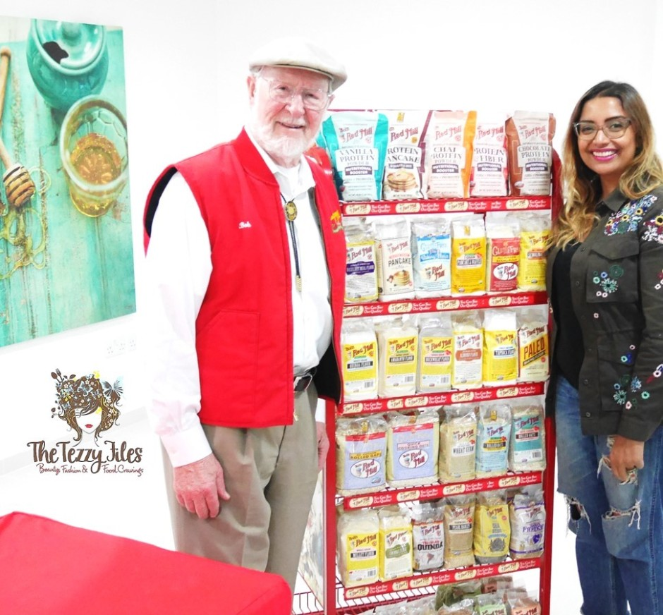 Bob's Red Mill History Interview Bob Moore Dubai Spinneys UAE healthy food recipes living blog UAE blogger