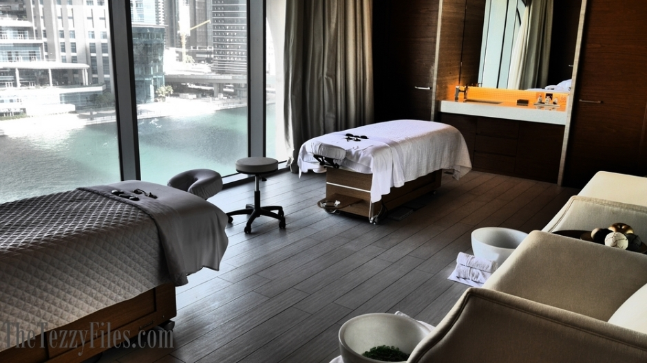 Heavenly Spa The Westin Dubai Habtoor City Review Drizzle Deep Massage Treatment Blog Post The Tezzy Files UAE Lifestyle Beauty Blogger (9)