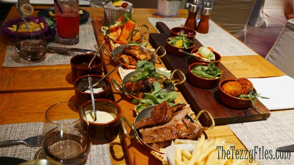3in1 Vida Downtown Dubai Review Grill Dinner Food Blog Dubai Food Blogger Mediterranean Arabic Mezze (1)
