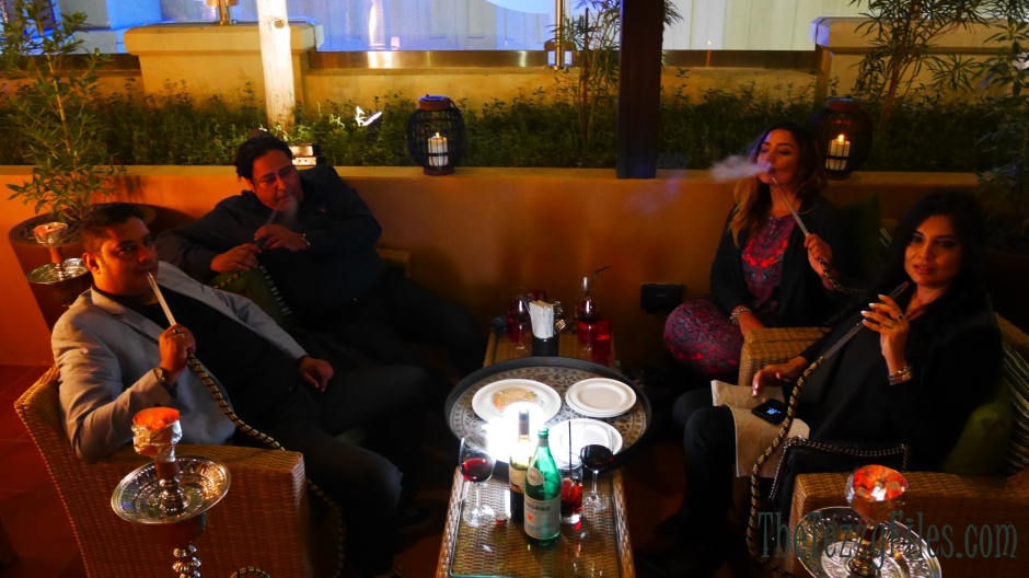 Fumo Lounge by Russo Shisha Party Review Dubai Food Blog UAE Blogger Amwaj Rotana JBR Dubai (19)