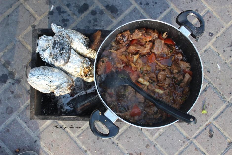 Peshawari Mutton Karhai Recipe Step By Step Dubai UAE Food Recipe Blog The Tezzy Files Blogger Pakistani Cuisine Authentic Shaan Mutton Karhai Masala (2)