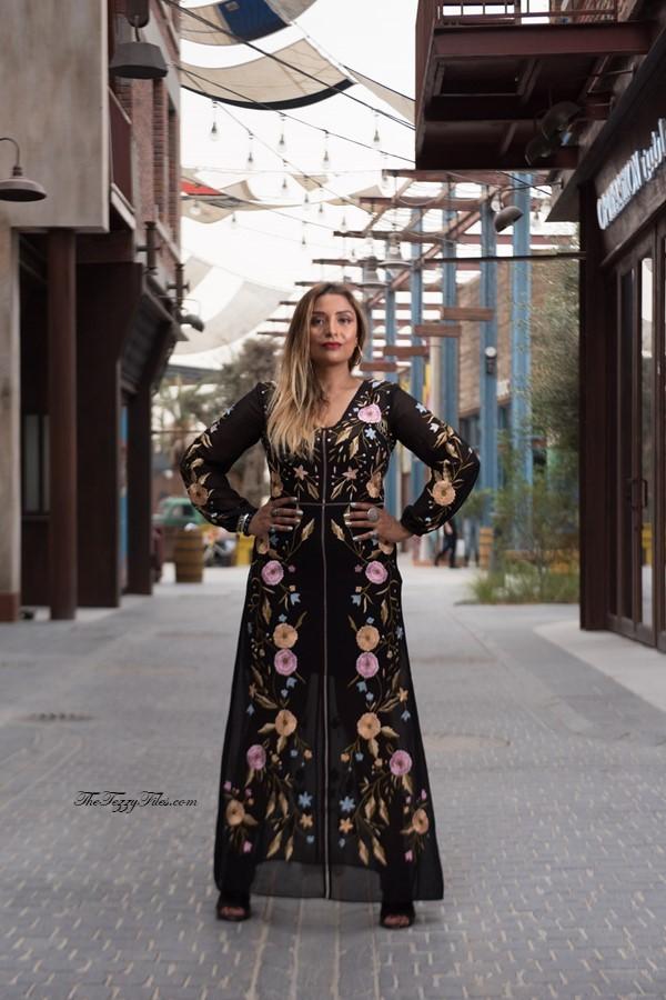 Dubai Fashion Blog UAE Blogger Middle East La Mer Debenhams Dress Makeup Beauty Style The Tezzy Files (1)