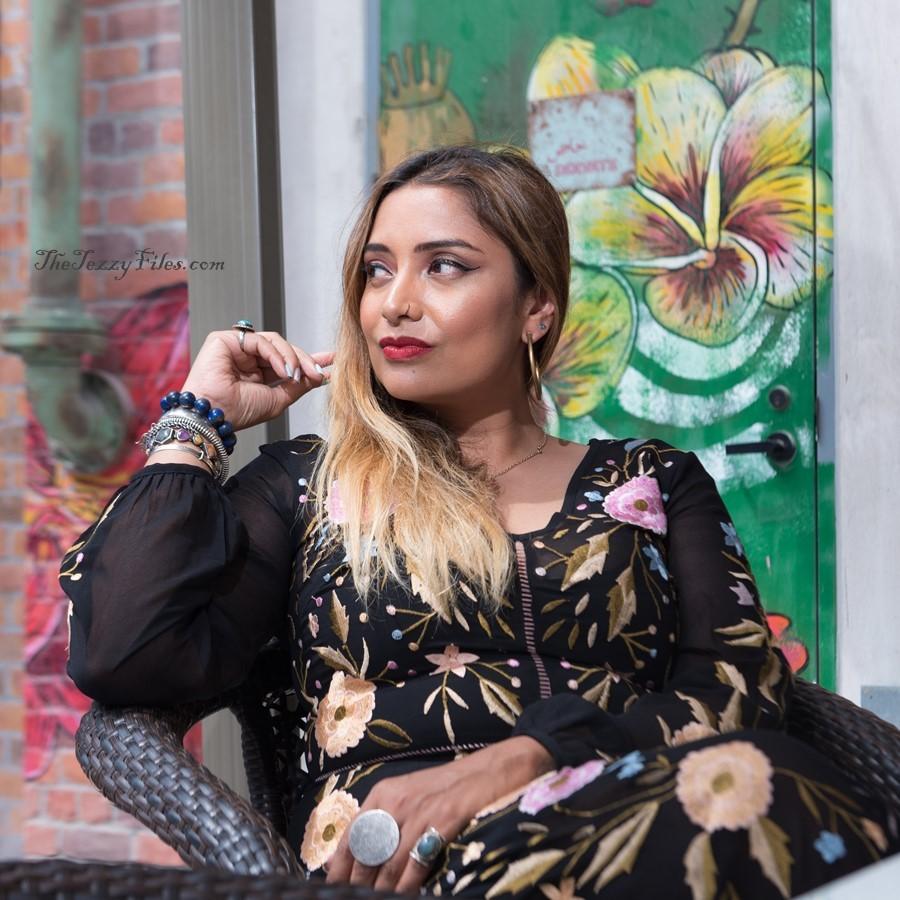 Dubai Fashion Blog UAE Blogger Middle East La Mer Debenhams Dress Makeup Beauty Style The Tezzy Files seniorita