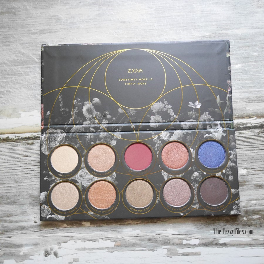 Zoeva Opulence Eye Shadow Palette Review Sephora Middle East Dubai Beauty Makeup Blogger Blog The Tezzy Files Swatches (4)