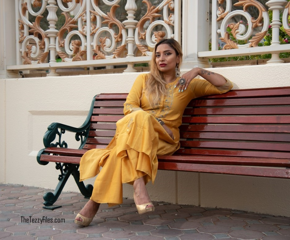 AM PM by Ankur and Priyanka Modi Qalb Collection September 2018 Indian Fashion Celebrity Designer Blog UAE Blogger Al Qasba Sharjah (1)