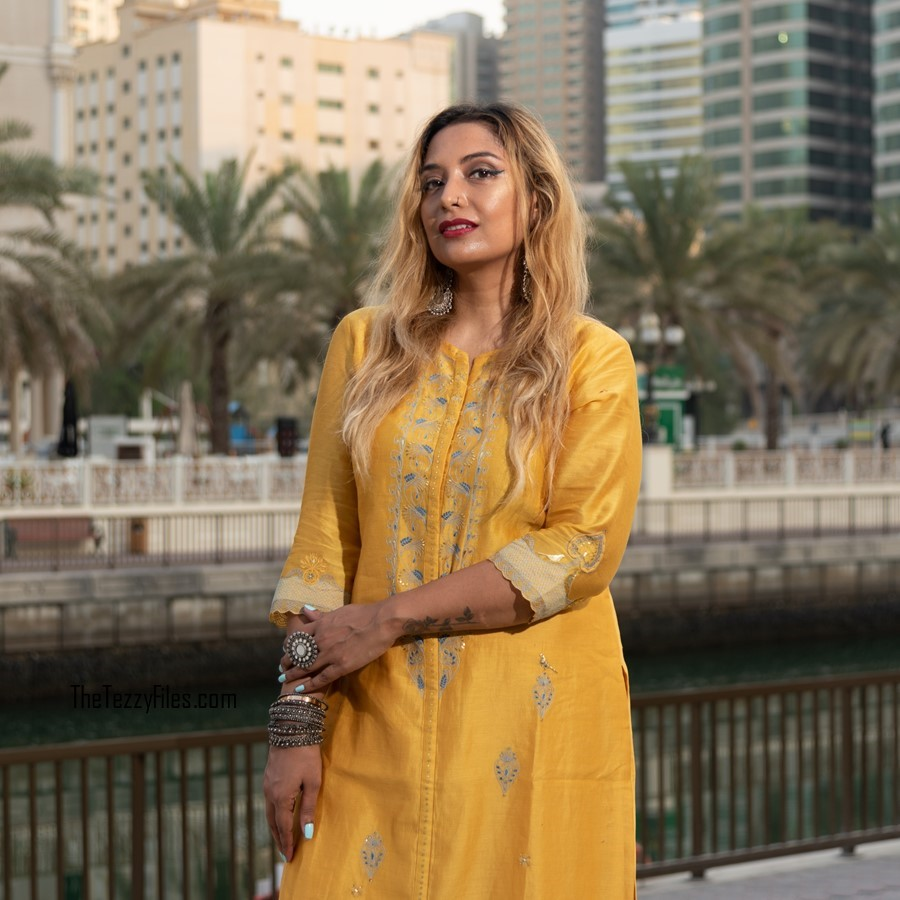AM PM by Ankur and Priyanka Modi Qalb Collection September 2018 Indian Fashion Celebrity Designer Blog UAE Blogger Al Qasba Sharjah (5)