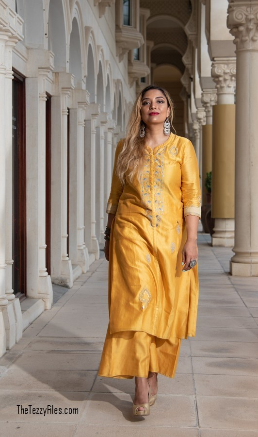 AM PM by Ankur and Priyanka Modi Qalb Collection September 2018 Indian Fashion Celebrity Designer Blog UAE Blogger Al Qasba Sharjah (6)
