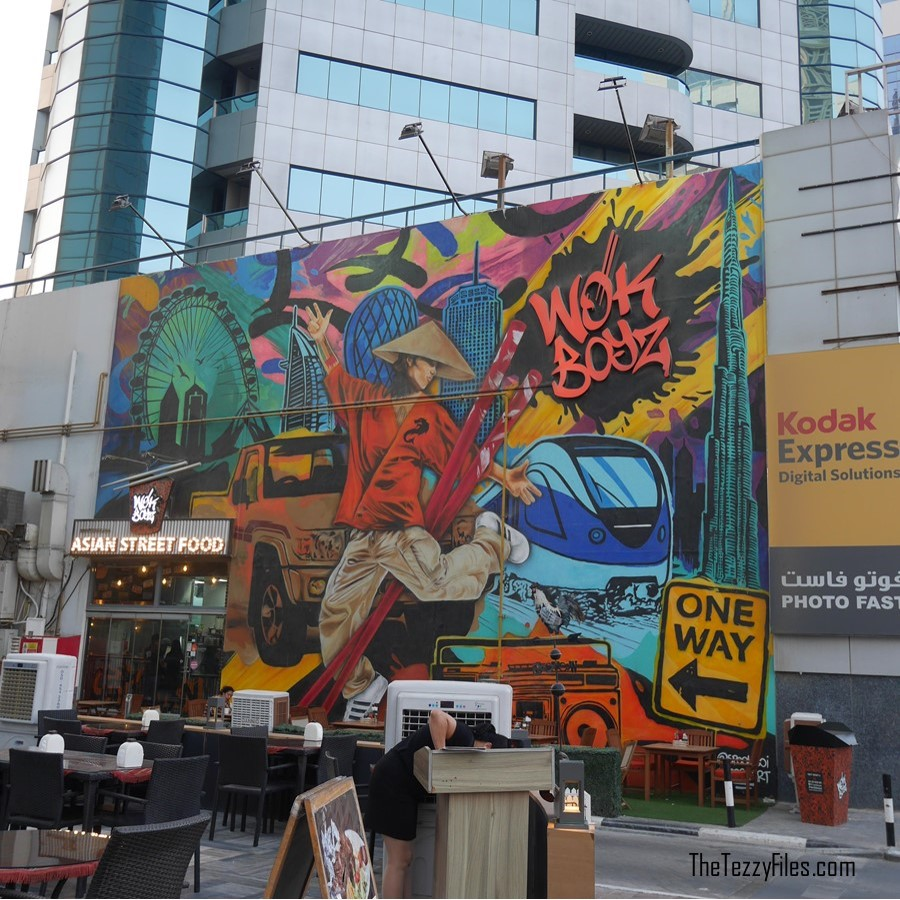 Wok Boyz Sheikh Zayed Road Dubai UAE Asian Street Food Review Graffitti Wall Food Blog UAE Blogger Zomato (4)