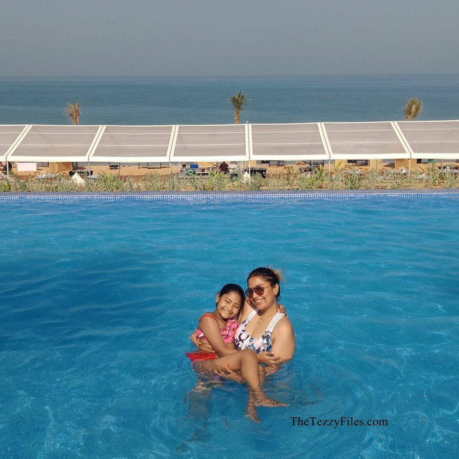 LongBeach Camp Bin Majid Beach Hotel Ras Al Khaimah camping glamping UAE staycation travel holiday weekend away blog review beach beaches infinity pool jacuzzi girls trip The Tezzy Files